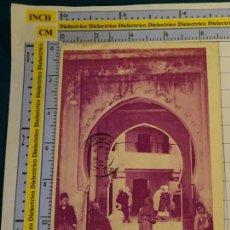 Postales: POSTAL DE ARGELIA. AÑOS 10 30. TLEMCEN ENTREE D'UN FONDOUK. 1668. Lote 140051438
