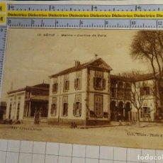 Postales: POSTAL DE ARGELIA. AÑOS 10 30. SETIF MAIRIE JUSTICE DE PAIX. 1674. Lote 140051710