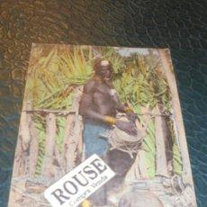 Postales: 1164- AFRIQUE OCCIDENTALE - SENEGAL - GRIOT DIOLA - 14X9 CM. . Lote 140221322