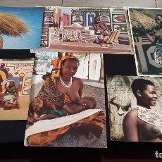 Postales: 1970, SUDAFRICAS, MUJERES GASTOS ENVIO INCLUIDOS. Lote 141557514