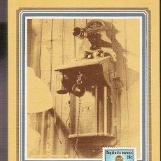 Postales: BOPHUTHATSWANA & MAXI, HISTORIA DEL TELÉFONO, MAHIKENG 1983 (110). Lote 143885790