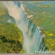 Postales: ZIMBABUE & MARCOFILIA, CATARATAS DE VICTORIA, VIA CAUSEWAY A MAPUTO MOZAMBIQUE 1981 (166). Lote 143888142