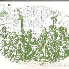 Postales: SUDÁFRICA & MAXI, DESCUBRIDORES DEL ÁFRICA, NAVEGANTES, DIOGO CÃO, HENTIES BAY 1986 (680). Lote 143890066