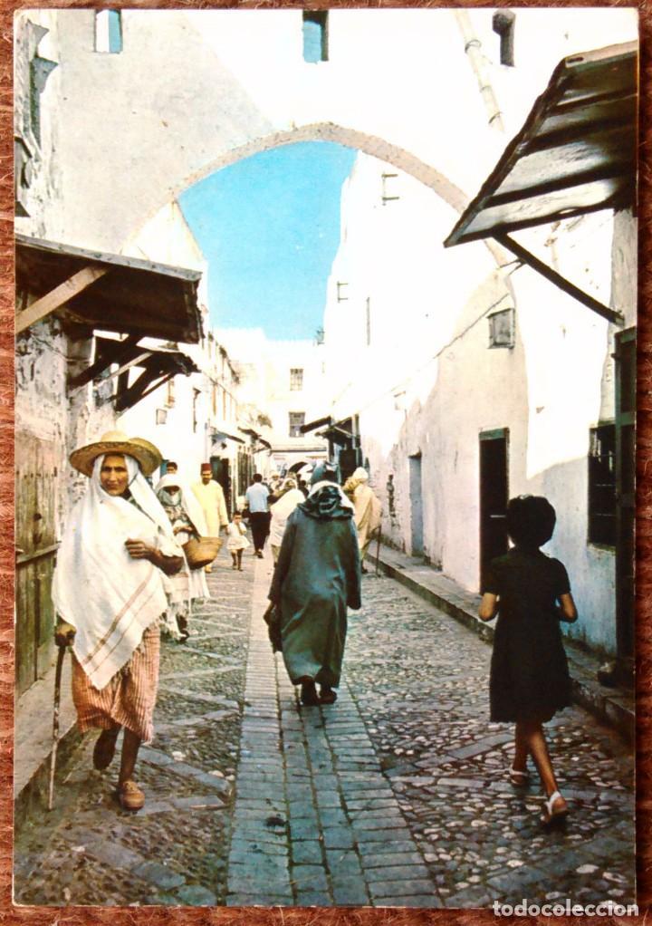 TETUAN - MARRUECOS - ANTIGUO BARRIO MORO (Postales - Postales Extranjero - África)