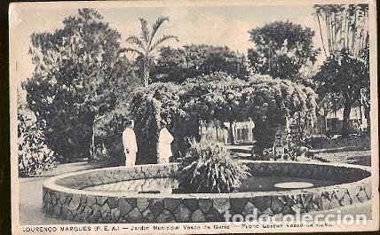 MOÇAMBIQUE ** & ULTRAMAR, LOURENÇO MARQUES, JARDINE MUNICIPAL VASCO DA GAMA (8861) (Postales - Postales Extranjero - África)