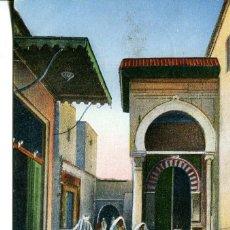 Postales: TUNEZ-RUE DE LAMÉDERSA-ES-SLIMANIA. Lote 146548298