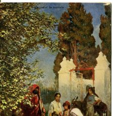 Postales: COMERCIANTE DE DULCES- 1906. Lote 146549030