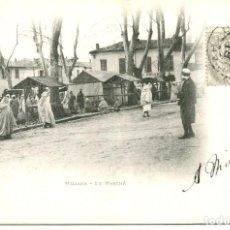 Postales: ARGELIA-MILIANA- EL MERCADO- AÑO 1902 SIN DIVIDIR. Lote 146550102