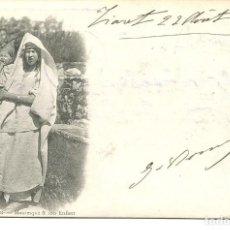 Postales: ARGELIA-TIPOS ARGELINOS-MADRE Y SU HIJO- AÑO 1901 SIN DIVIDIR. Lote 146550958