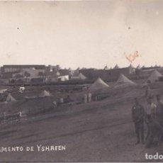 Postales: CAMPAMENTO DE ISHRFEN (MARRUECOS) - VISTA DEL MISMO. Lote 146681838