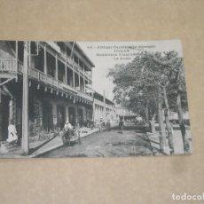 Postales: DAKAR -BOULEVARD PINET - ANIMADA - ESCRITA 1923 - SENEGAL- VER FOTOS DETALLES. Lote 146779202