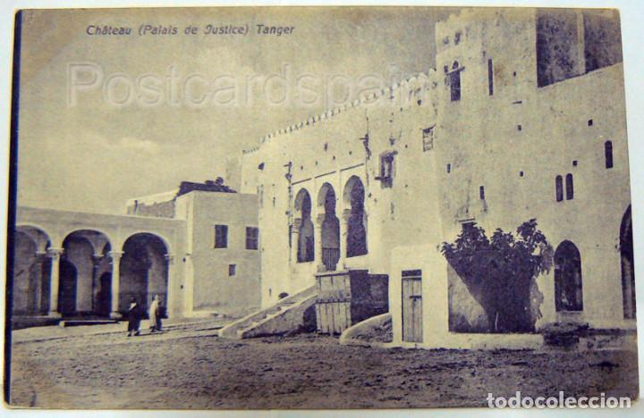 MARRUECOS MOROCCO CHÁTEAU (PALAIS DE JUSTICE) TANGER - AFRICA (Postales - Postales Extranjero - África)