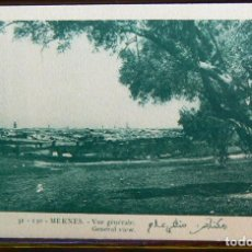 Postales: MARRUECOS MOROCCO MEKNES VUE GÉNÉRALE GENERAL VIEW MAROC AFRIQUE. Lote 147278062