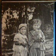 Postales: NIÑAS MARRUECOS SCENES ET TYPES - FILLETTES MAURIESQUES - GIRLS MOROCCO. Lote 147291598