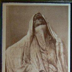 Postales: ALGERIE MAURESQUE D´ALGER VOILÉE FEMME GIRL PORTRAIT. Lote 147292582