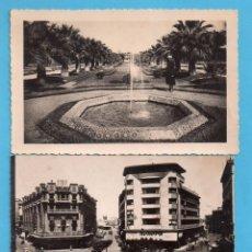Postales: DOS POSTALES DE CASABLANCA SIN CIRCULAR . Lote 147898446