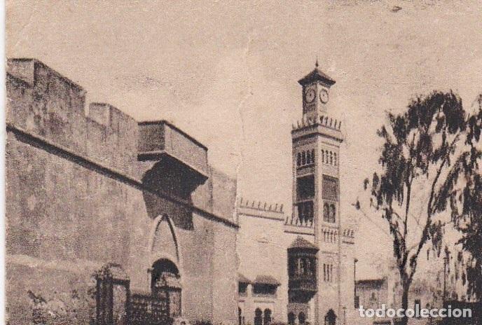 POSTAL ORIGINAL. DÉCADA 30. MARRUECOS. LARACHE. TORRE DE LA COMANDANCIA. Nº 1468 (Postales - Postales Extranjero - África)