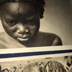 Postales: LOTE 8 POSTALES AFRICA ECUATORIAL FRANCESA. BÉGUE. SIN CIRCULAR. VER FOTOS. Lote 149359326