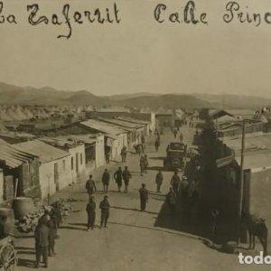 1926 Alcazaba Taferrit, calle principal. Marruecos