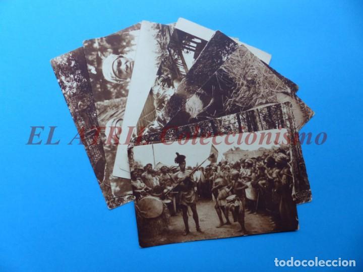 GUINEA ESPAÑOLA Y CONTINENTAL, 9 POSTALES, VER FOTOS ADICIONALES (Postales - Postales Extranjero - África)