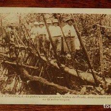 Postales: ANTIGUA POSTAL DE GUINEA ECUATORIAL ESPAÑOLA, EL GOBERNADOR GENERAL NUÑEZ DE PRADO, PUBLICACIONES PA. Lote 153654994