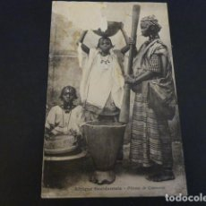 Postales: AFRICA OCCIDENTAL TIPOS. Lote 155215498