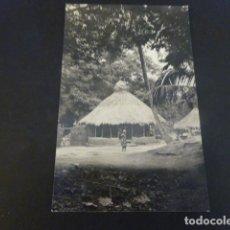 Postales: GUINEA AFRICA CASAS INDIGENAS. Lote 155409810