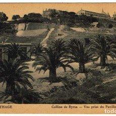 Postales: POSTAL TÚNEZ. CARTHAGE - COLLINE DE BYRSA - VUE PRISE DU PAVILLON BEAU-SÉJOUR. Nº 7. Lote 156978234
