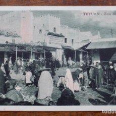 Postales: TETUAN- ZOCO DEL FOKI - SIN CIRCULAR.. Lote 156995038