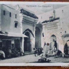 Postales: TETUAN- DOS MEZQUITAS - SIN CIRCULAR.. Lote 156995442