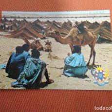 Postales: POSTAL GRAND MOUSSEM MAROC. Lote 160891346