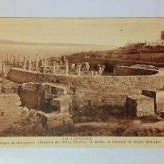 Postales: POSTAL TUNEZ - 139 CARTHAGE - BASILIQUE DE ST-CYPRIEN - AÑOS 30 APROX. - SIN USAR. Lote 161403838