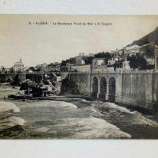 Postales: POSTAL - 3 ARGEL. LE BOULEVARD FRONT-DE-MER À ST. EUGÈNE - COLLECTION RÉGENCE - AÑOS 20 APROX.. Lote 161469554