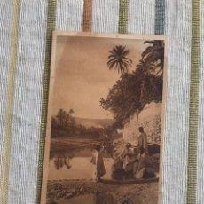 Postales: POSTAL N182. CORSO D'AGUA NELL'OASI. MARRUECOS EDITORES L & L. Lote 165016989