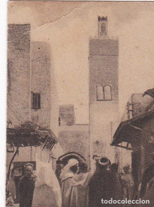 POSTAL ORIGINAL. DÉCADA 30. MARRUECOS. TETUÁN. EL BARRIO MORO. Nº 1466 (Postales - Postales Extranjero - África)