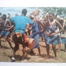 Postales: KENYA:WAKAMBA DANCERS.CIRCULADA.. Lote 168614257