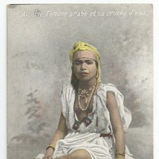 Postales: CARTE POSTALE DE ARGELIA EDITADA POR AQUA-PHOTO LVS.-AÑOS 20- SELLO DE BATALLON WAD.RAS-SIN CIRCULAR. Lote 168628404