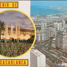 Postais: CASABLANCA (MARRUECOS) PLAZA NACIONES UNIDAS - PHOTO ITTAH - CIRCULADA. Lote 171833709