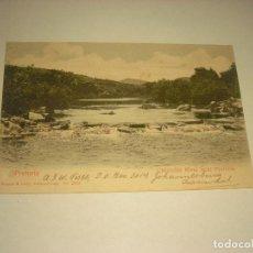 Postales: PETORIA, CROCODILE RIVER NEAR PRETORIA , CIRCULADA 1907.. Lote 171991975