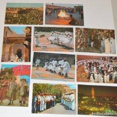 Postales: LOTE - MARRUECOS - 10 POSTALES - DIVERSAS - SIN CIRCULAR. Lote 174146169