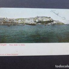 Postales: TANGER MARRUECOS VISTA DESDE LA BAHIA. Lote 175136453