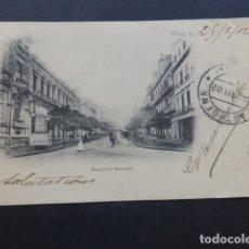 Postales: ORAN ARGELIA BOULEVARD NATIONAL. Lote 175179687