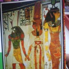 Postales: POSTAL EGIPTO BLOC CON 18 POSTALES. Lote 176832714
