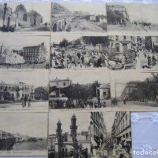 Postales: 77-LOTE DE 12 POSTALES DE ARGEL (ALGER) PRINCIPIOS DE SIGLO XX-(VER DESCRIPCIÓN). Lote 177983954
