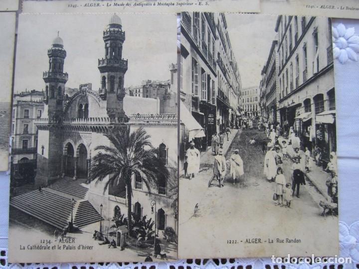 Postales: 77-Lote de 12 Postales de Argel (Alger) Principios de Siglo XX-(ver descripción) - Foto 2 - 177983954