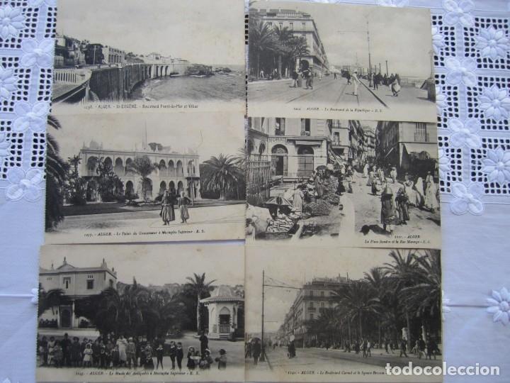 Postales: 77-Lote de 12 Postales de Argel (Alger) Principios de Siglo XX-(ver descripción) - Foto 4 - 177983954