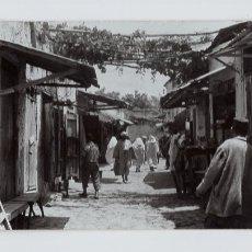 Postales: ALCAZARQUIVIR (MARRUECOS). CALLE SIDI MOHAMED -FOTO GARCÍA CORTÉS Nº 858-. Lote 179043885