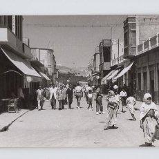Postales: VILLA SANJURJO. CALLE ALHUCEMAS (POSTAL FOTOGRÁFICA). Lote 179044326