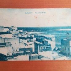 Postales: POSTAL LARACHE VISTA DE LA BARRA - MARRUECOS. Lote 180170942