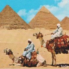 Postales: EGIPTO, GIZA, EL GRUPO DE PIRÁMIDES DE GIZA - EDITA CYZ 24005_1 - S/C. Lote 180174201